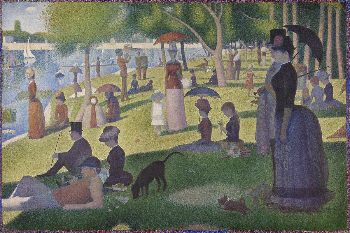 A Sunday Afternoon on La Grande Jatte - Seurat