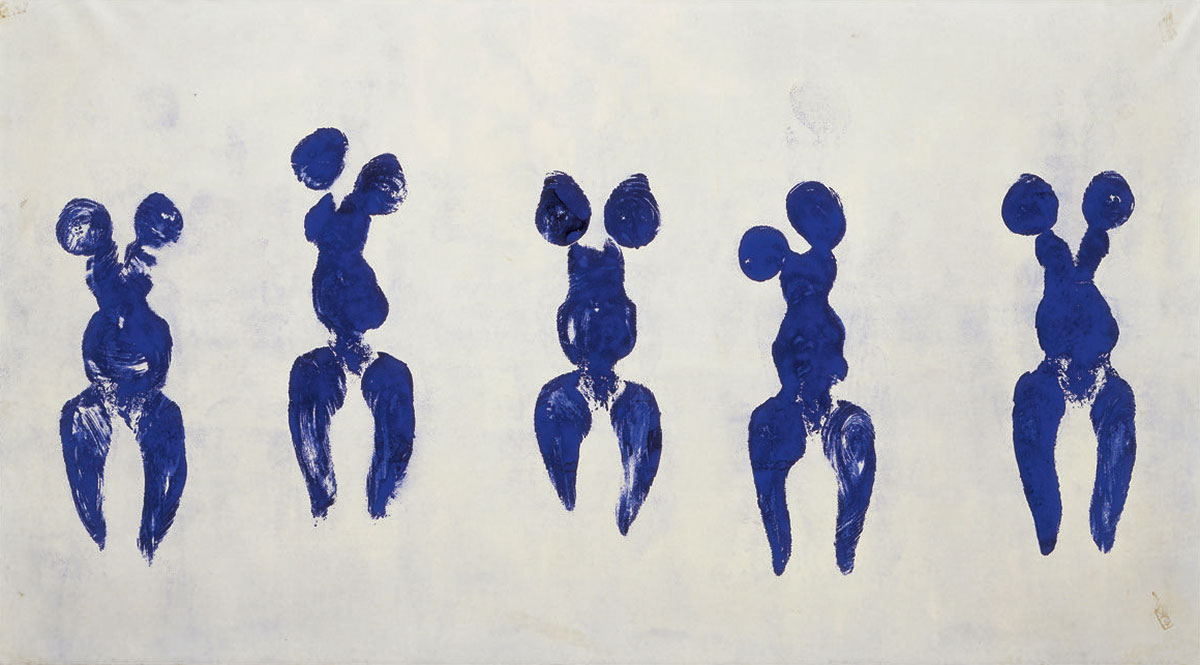 Anthropometry of the Blue Period (ANT 82) + Klein, Yves *magnifico