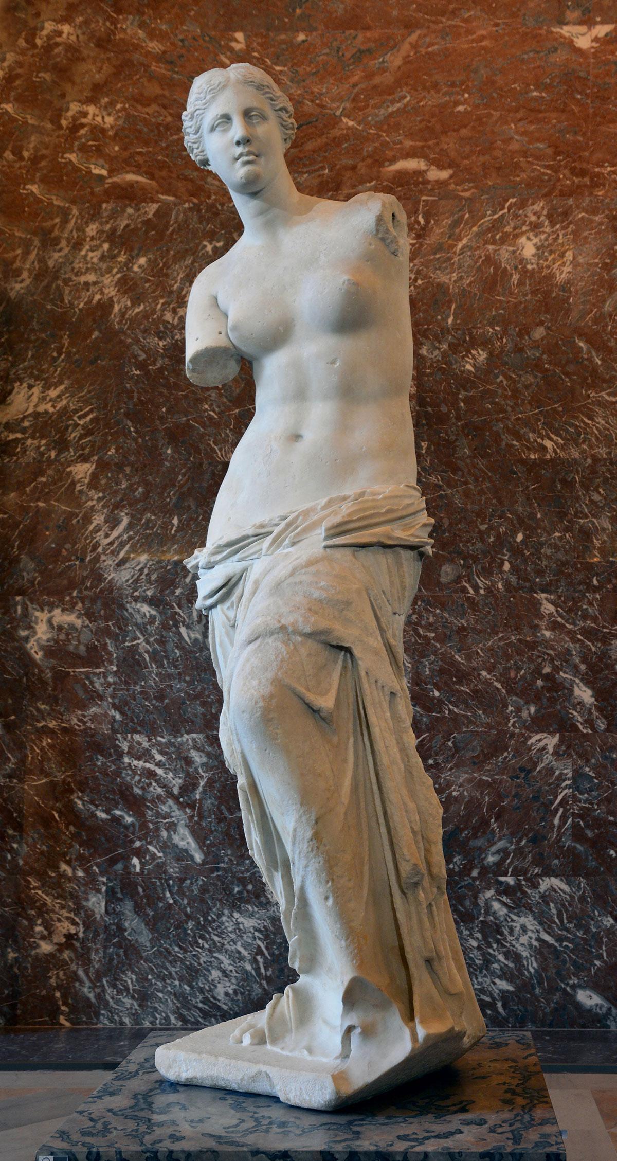 Aphrodite of Milo /Afrodíti tis Mílou/ + Alexandros of Antioch *magnifico
