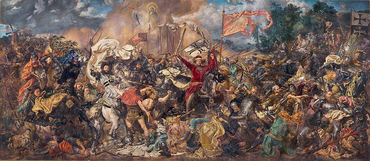 Battle of Grunwald /Bitwa pod Grunwaldem/ + Matejko, Jan *magnifico