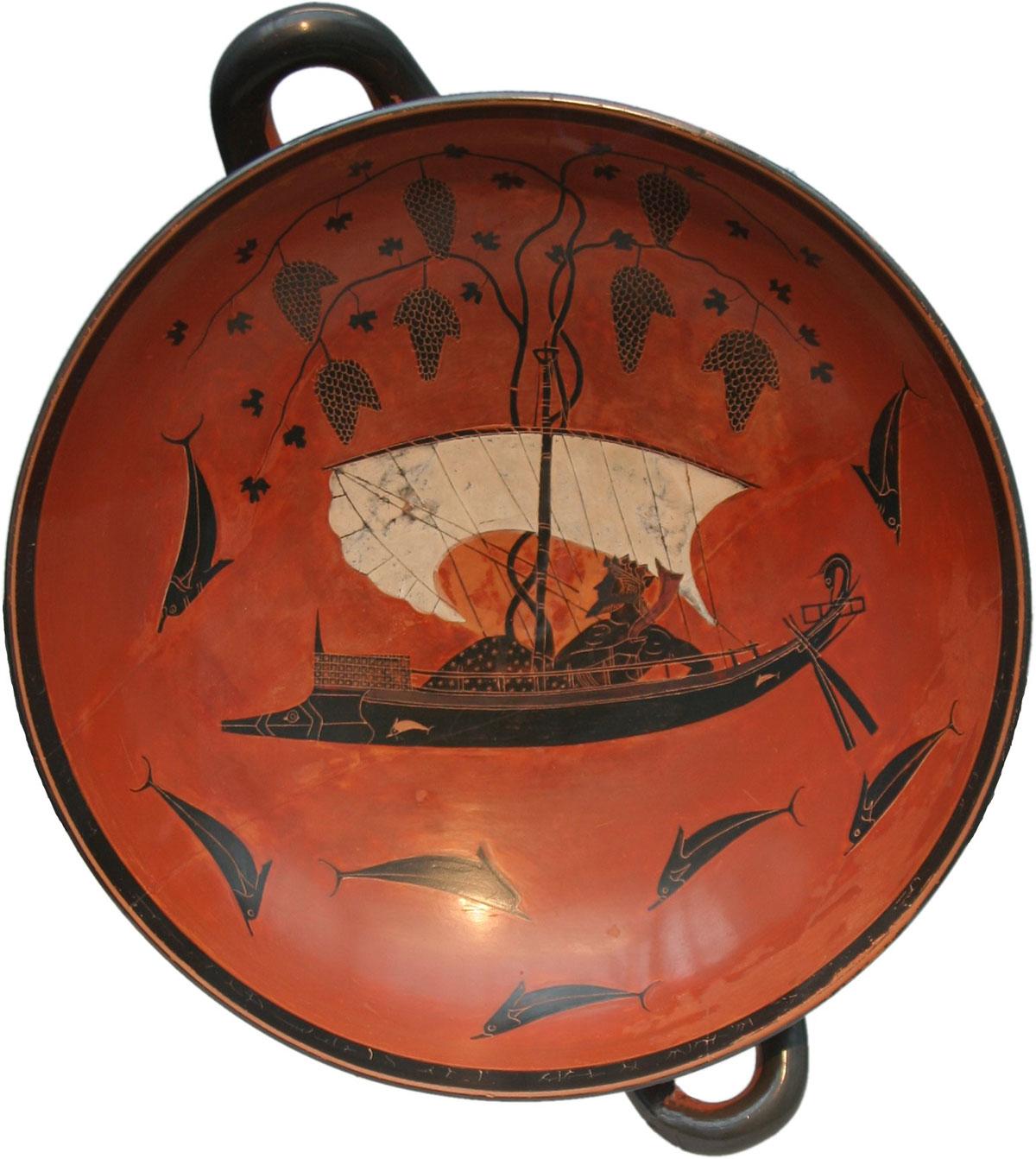 Dionysus cup /Dionysus kylix/ + Exekias *magnifico