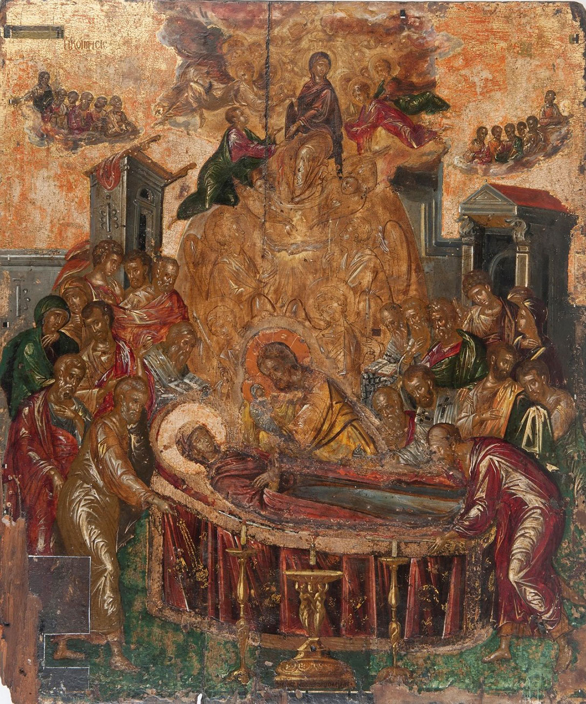Dormition of the Virgin /I koímisi tis Theotókou/ + El Greco *magnifico