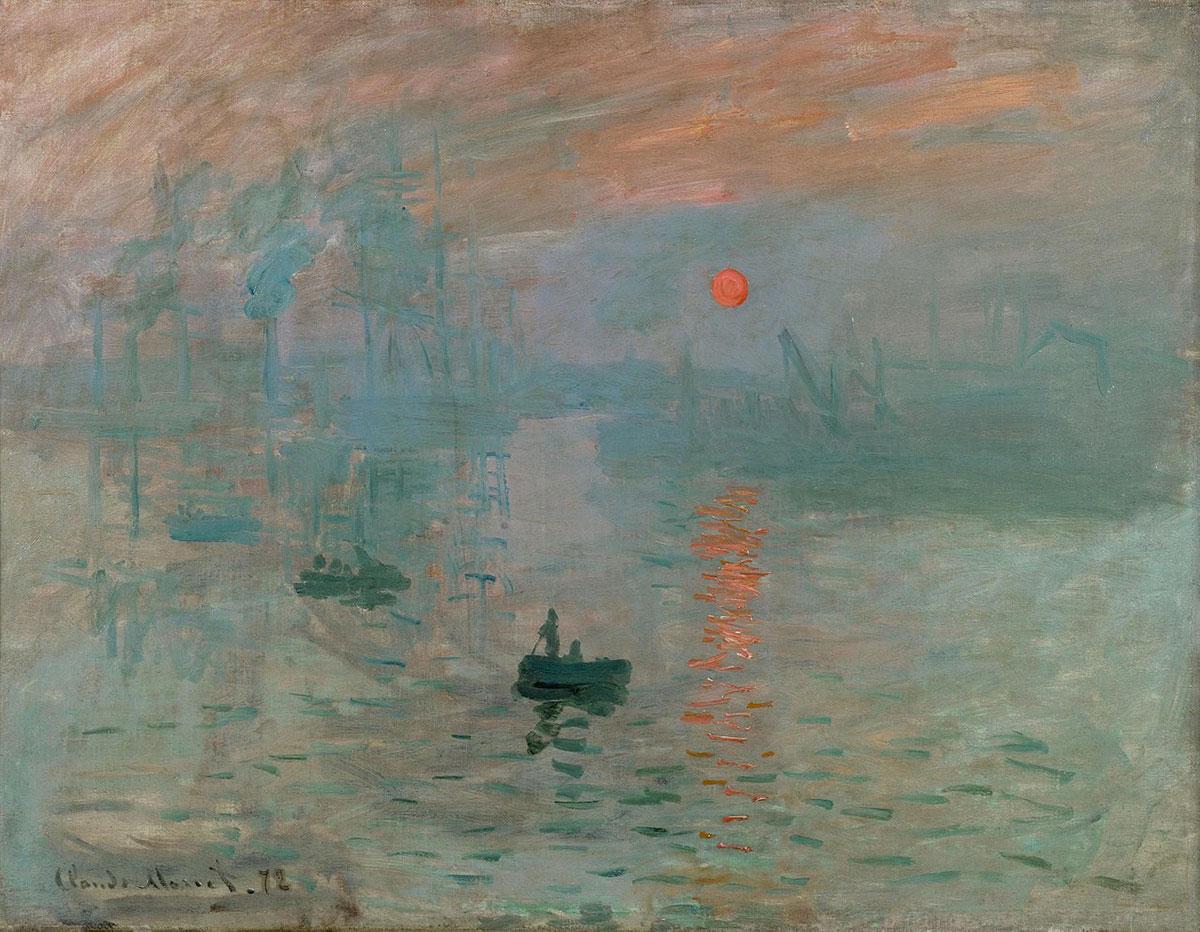 Impression, sunrise /Impression, soleil levant/ + Monet, Claude *magnifico