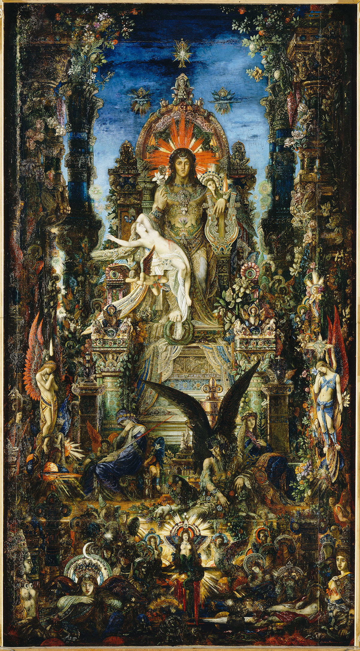 Jupiter and Semele /Jupiter et Sémélé/ + Moreau, Gustave *magnifico