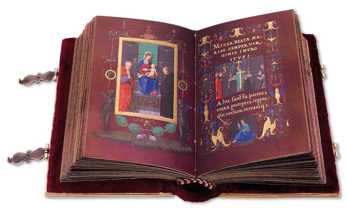 Libro d'Ore Durazzo + Marmitta, Francesco *magnifico