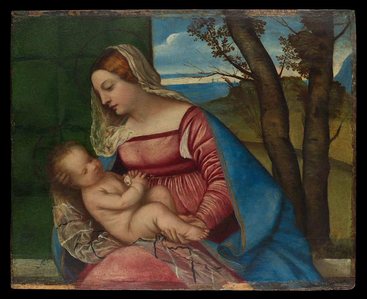 Madonna and Child - Vecellio