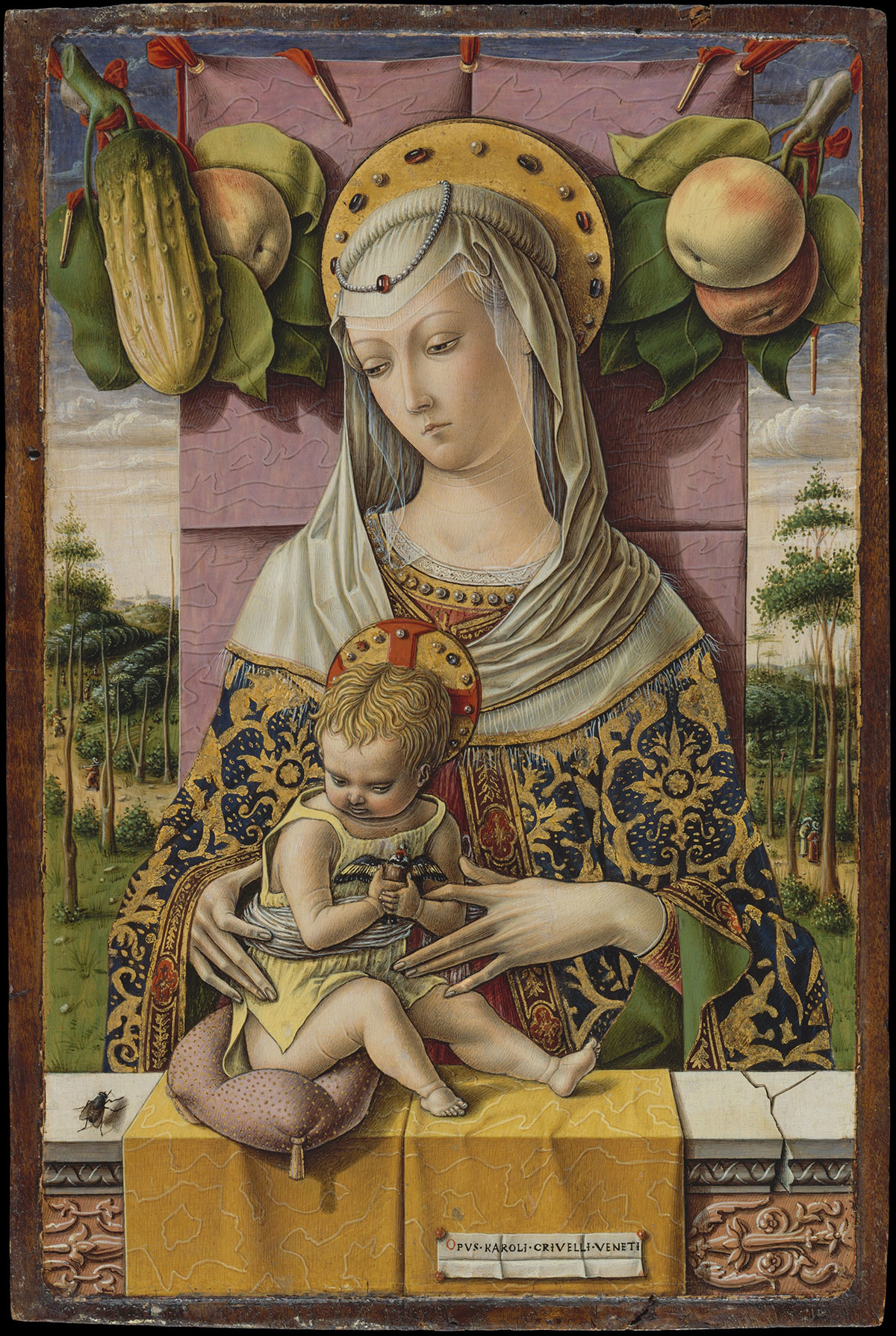Madonna and Child - Crivelli