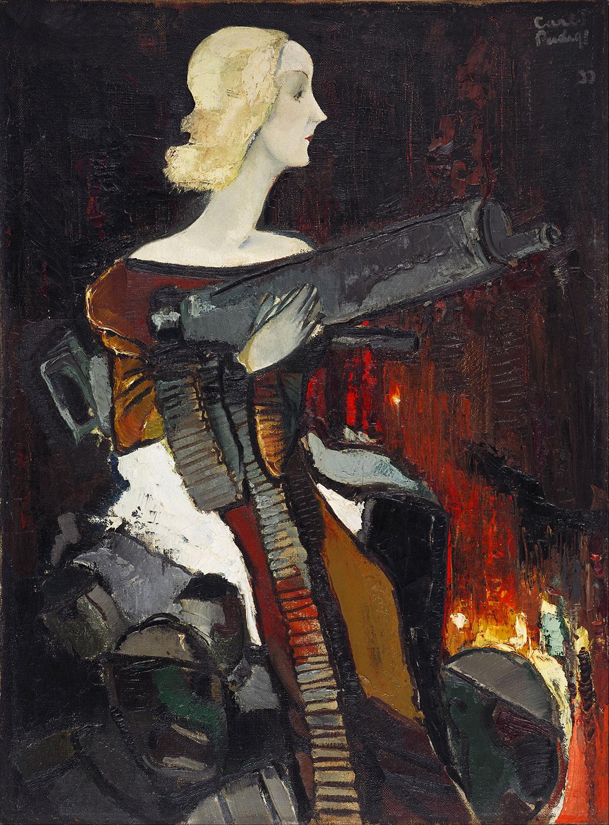 Madonna with machine gun /Madonna ar ložmeteju/ + Padegs, Karlis *magnifico