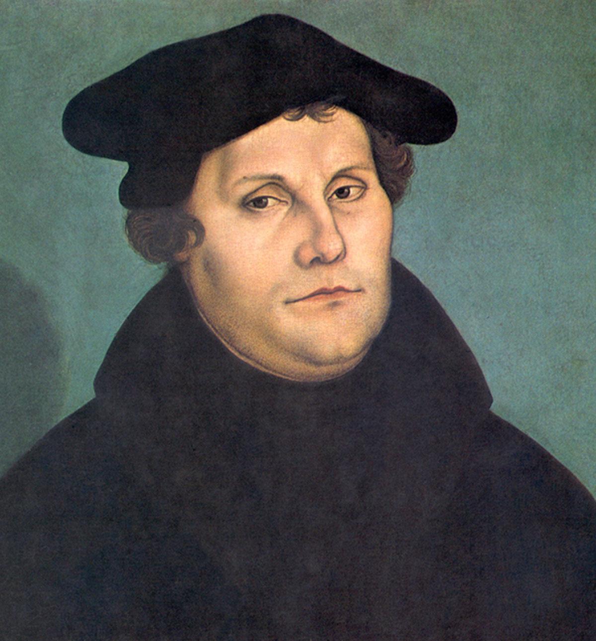 Martin Luther + Lucas Cranach the Elder *magnifico