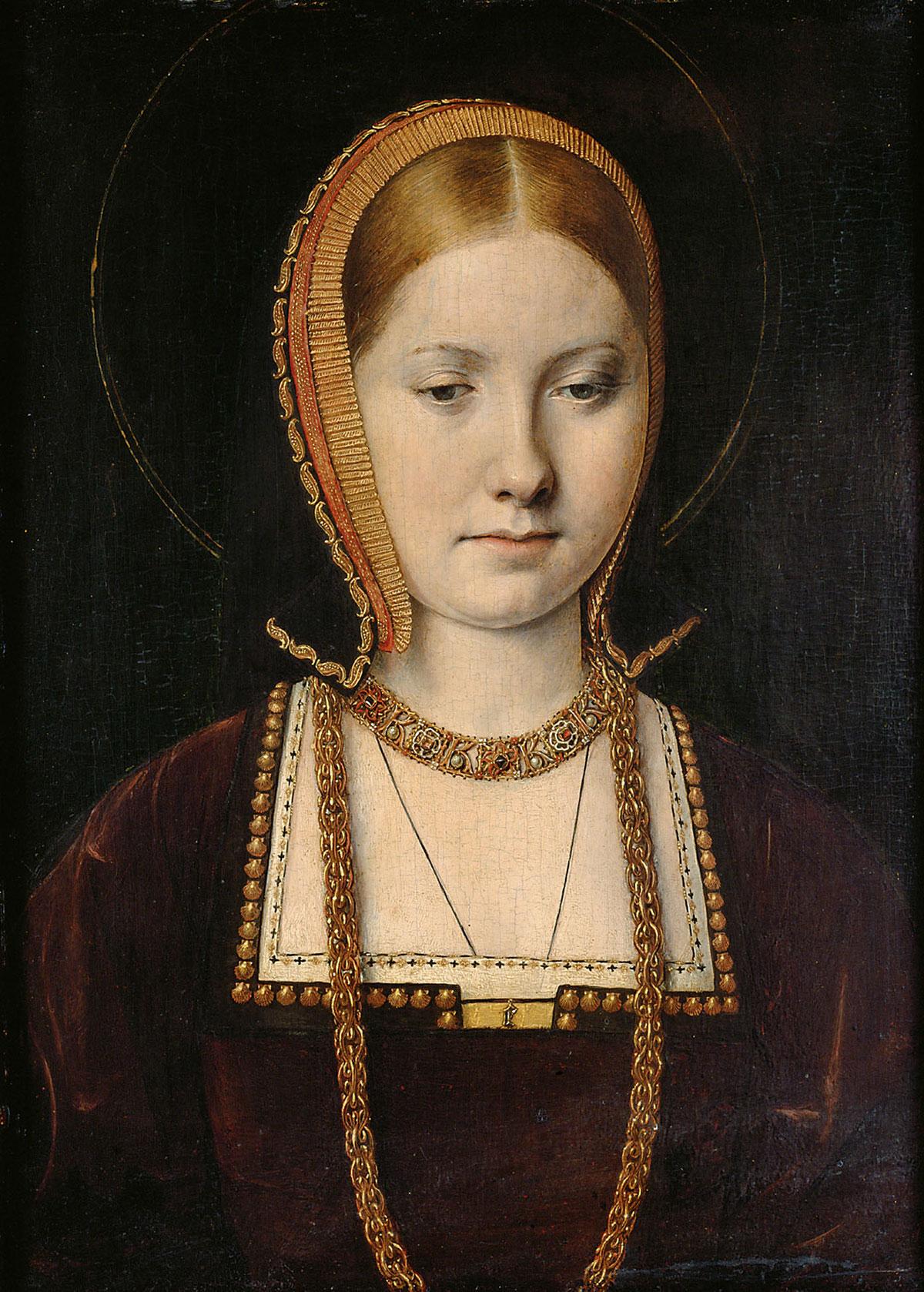 Mary Rose Tudor + Sittow, Michael *magnifico