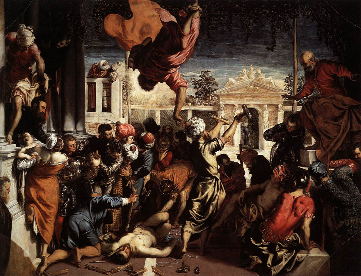 Miracle of the slave /Il miracolo di San Marco/ + Tintoretto *magnifico