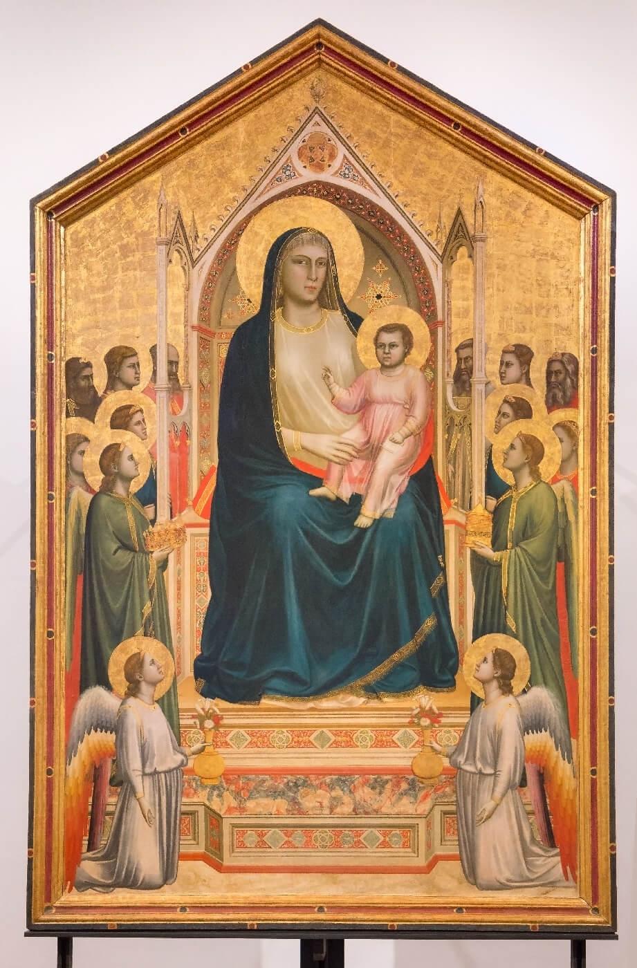 Ognissanti Madonna /Maestà di Ognissanti/ + Giotto *magnifico