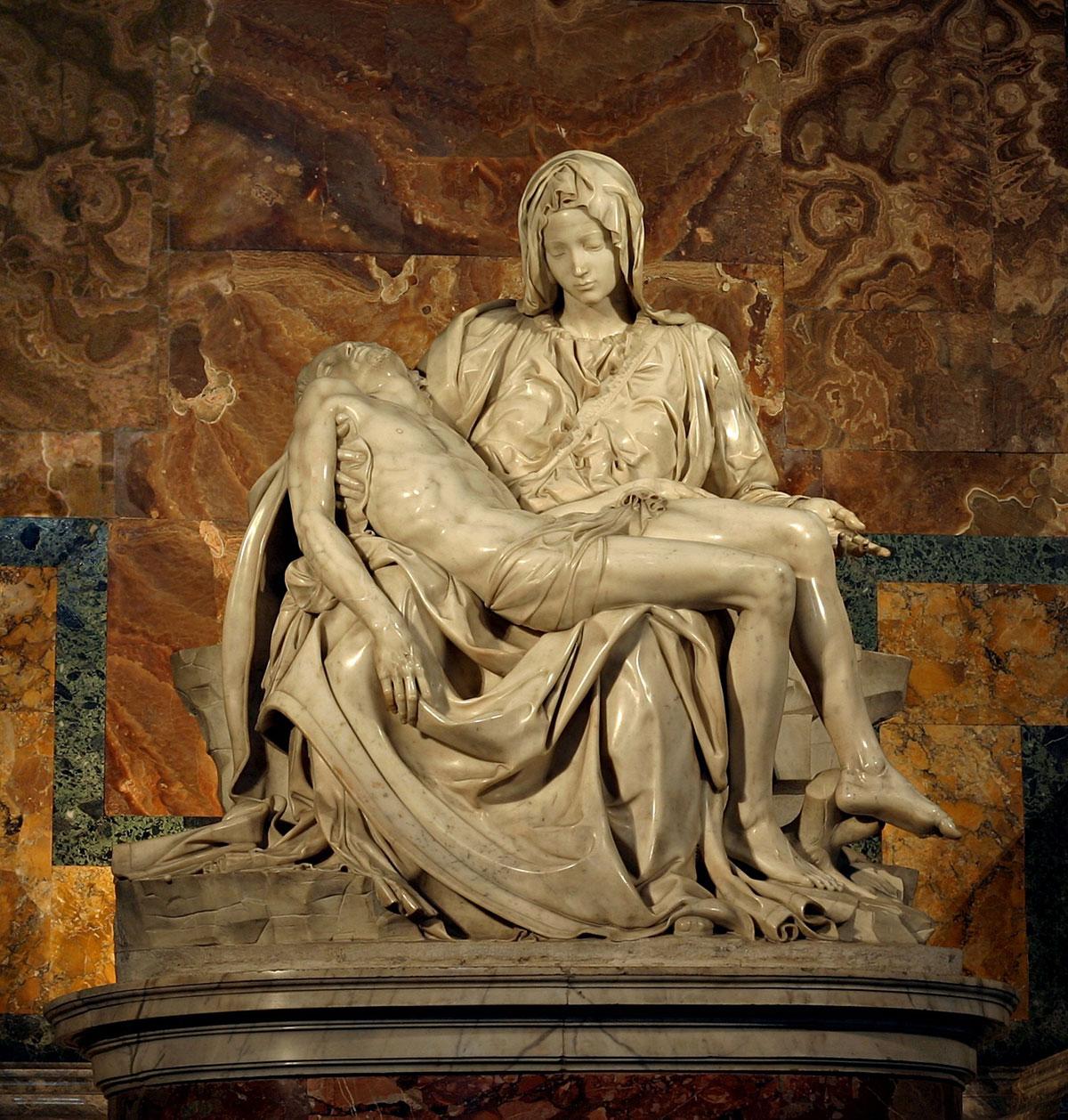 Pietà + Michelangelo *magnifico