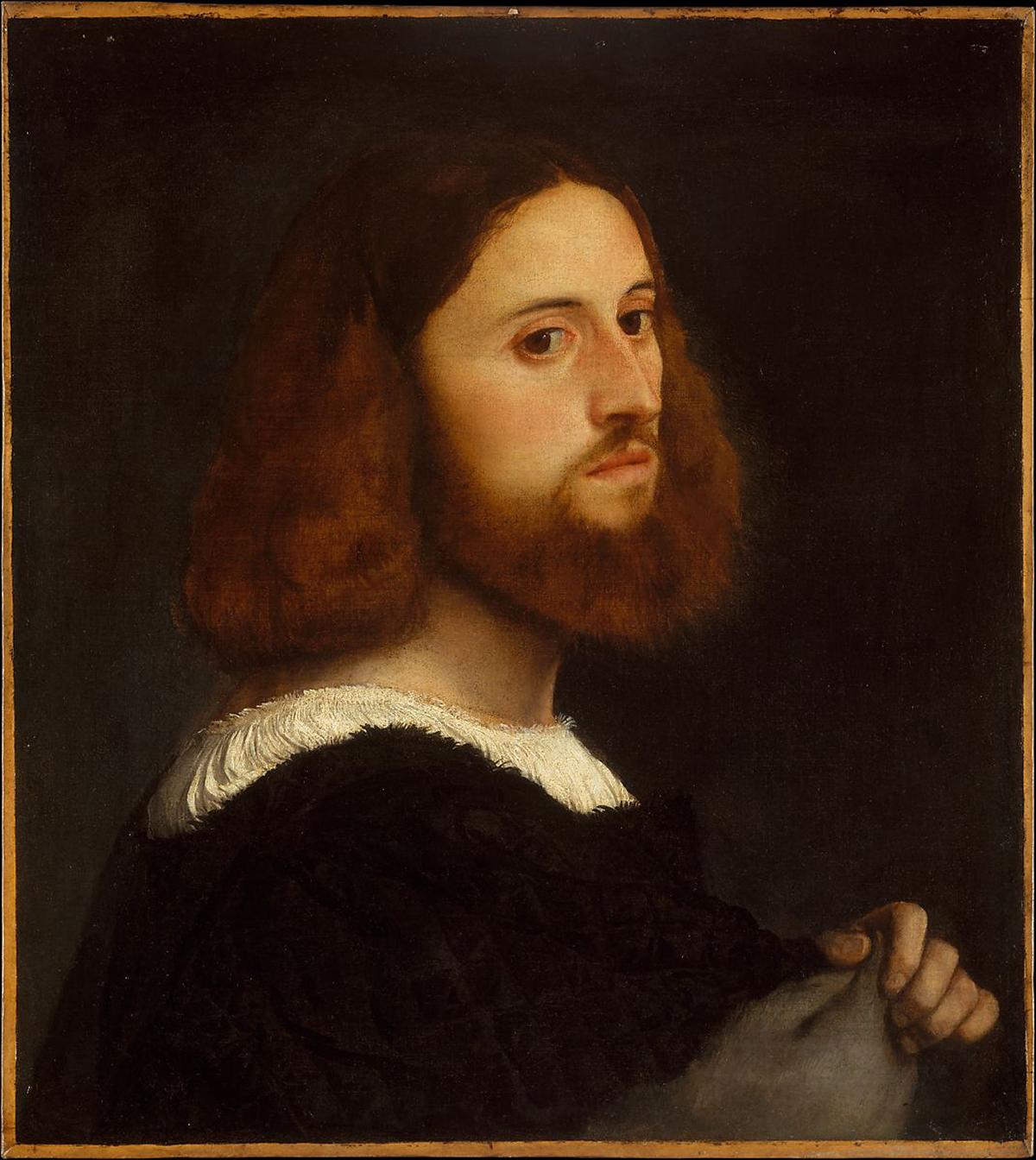 Portrait of a Man - Vecellio