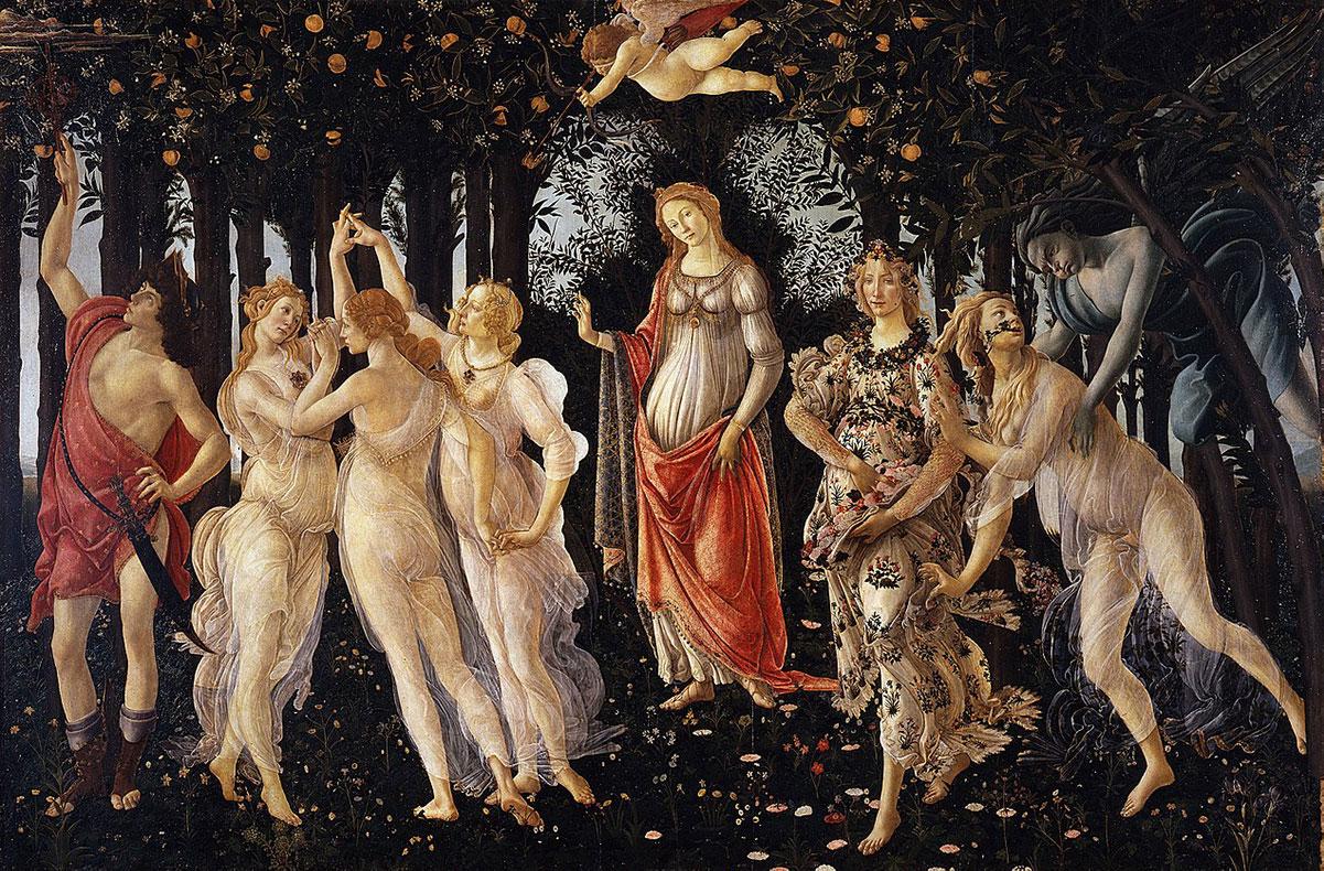 Primavera + Botticelli, Sandro *magnifico