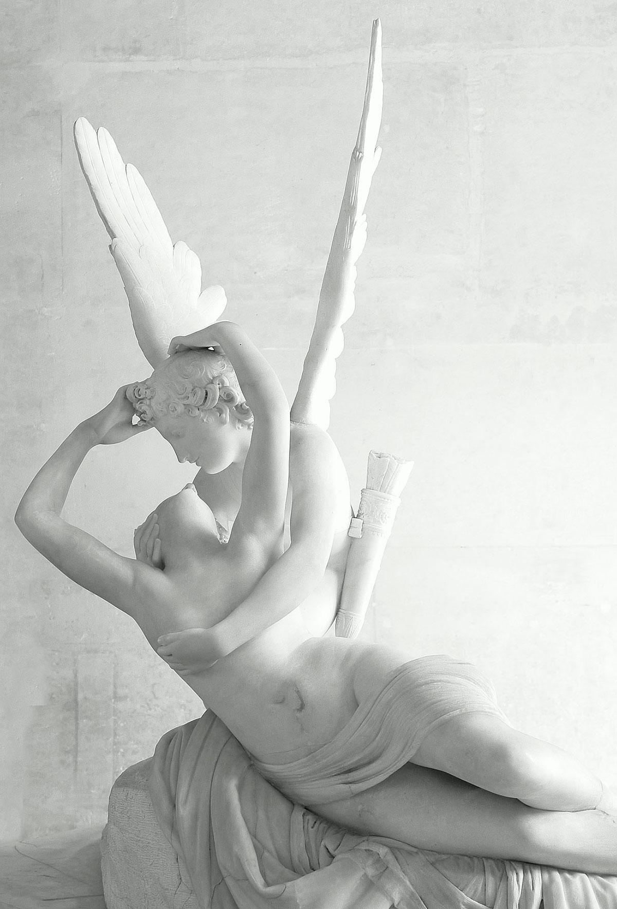Psyche revived by Cupid's kiss /Amore e Psiche/ + Canova, Antonio *magnifico