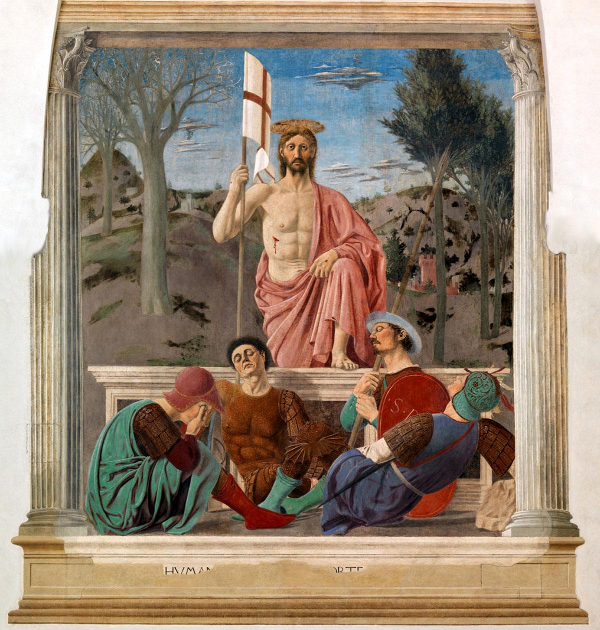 Resurrection /Resurrezione/ + Piero della Francesca *magnifico