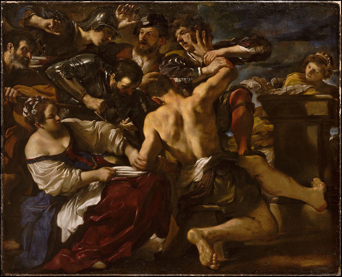 Samson Captured by the Philistines - Barbieri