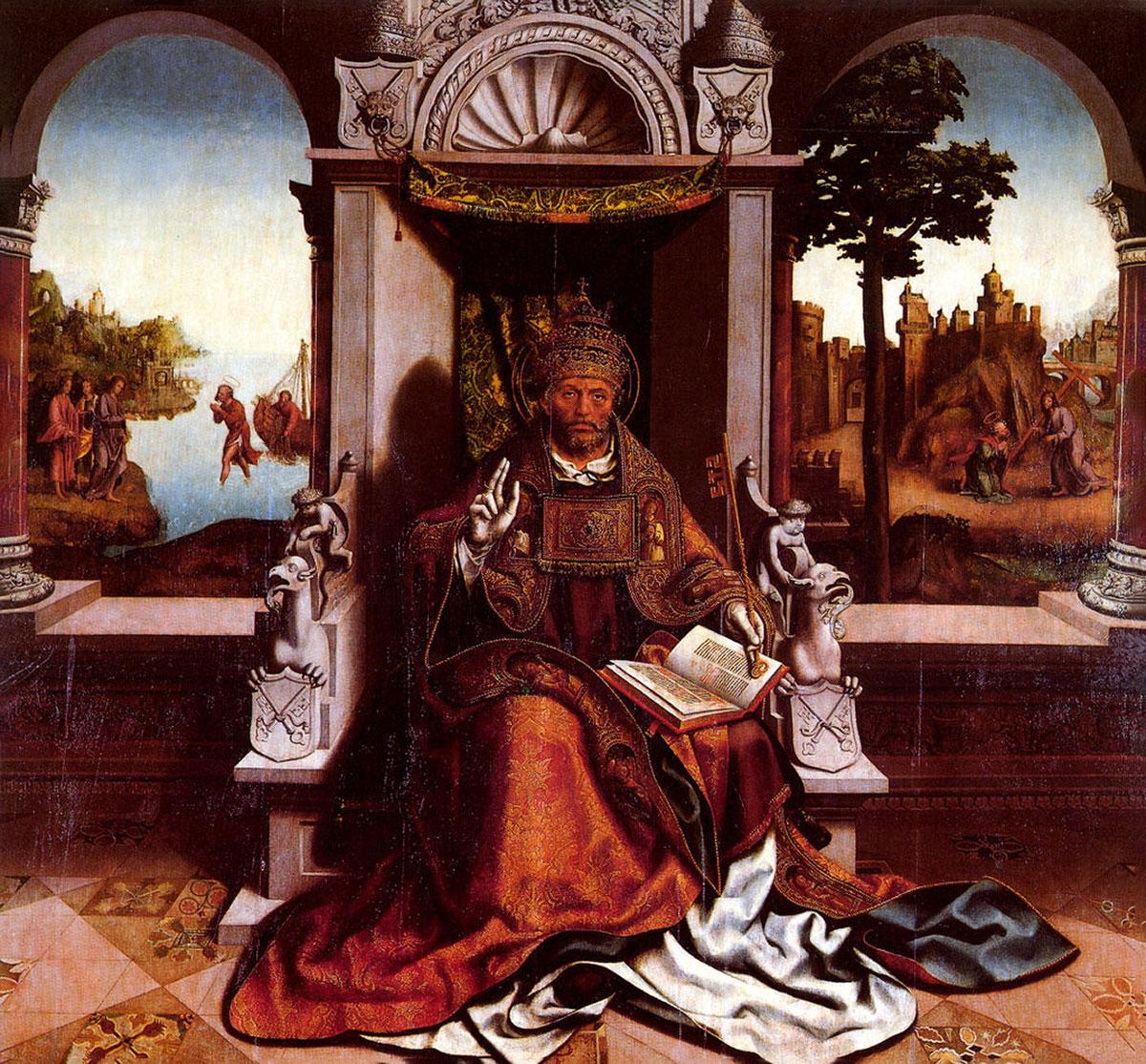 St. Peter in His Throne /São Pedro/ + Grão Vasco *magnifico