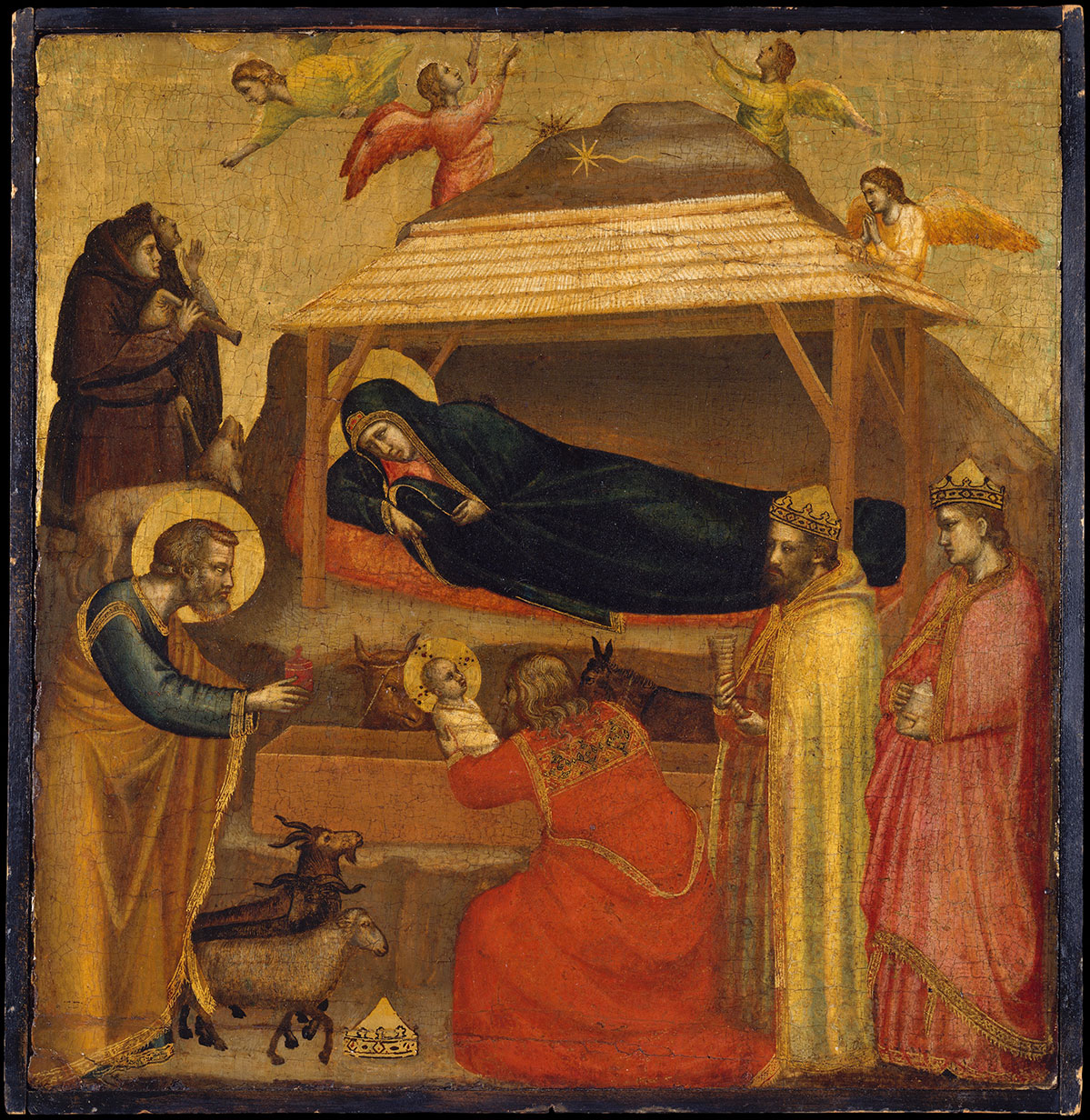 The Adoration of the Magi - di Bondone