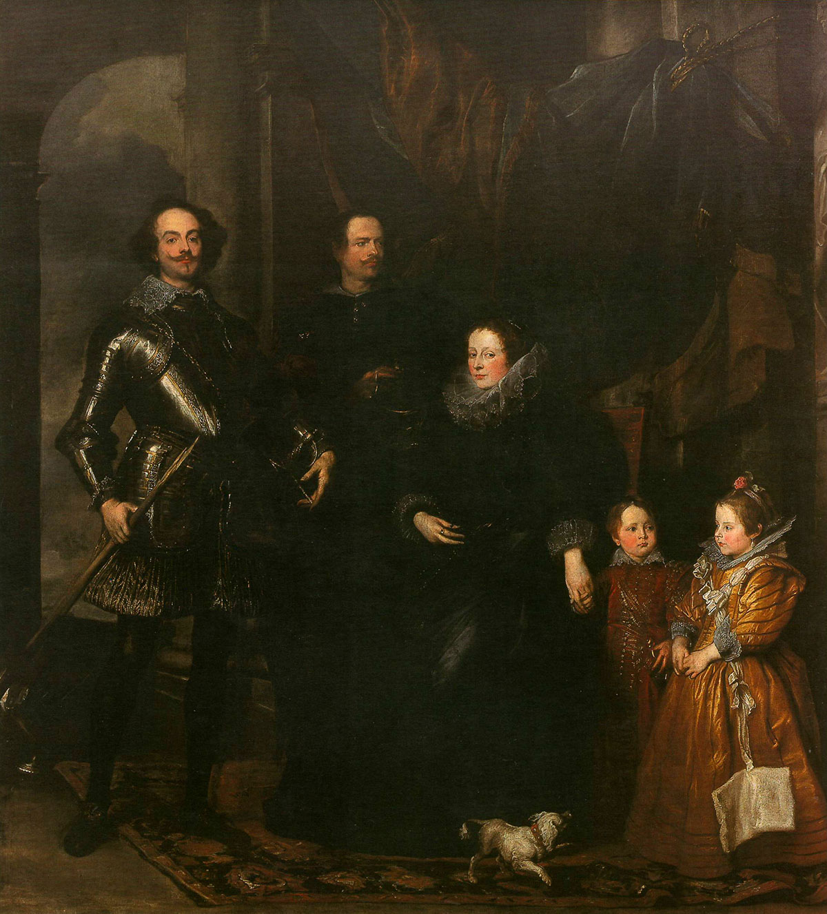 The Lomellini family + van Dyck, Antoon *magnifico