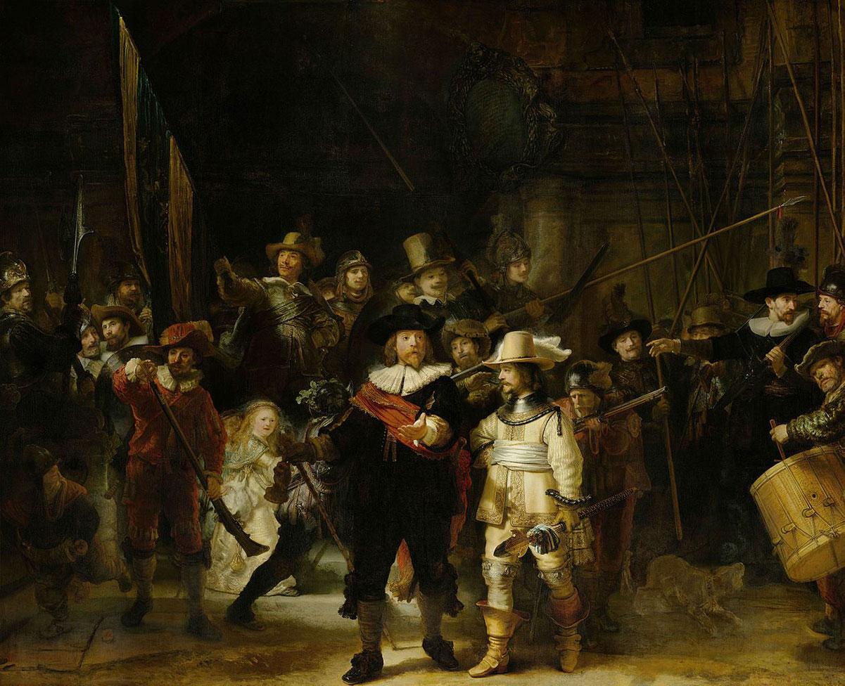 The Night Watch /De Nachtwacht/ + Rembrandt *magnifico