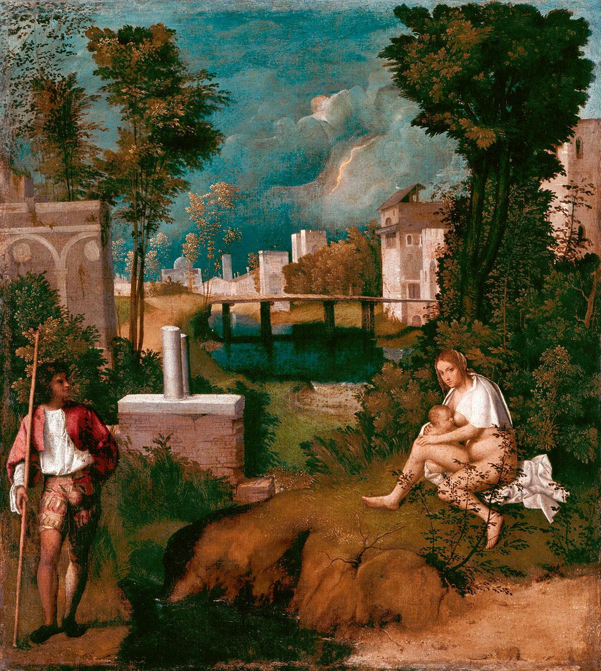 The tempest /La tempesta/ + Giorgione *magnifico