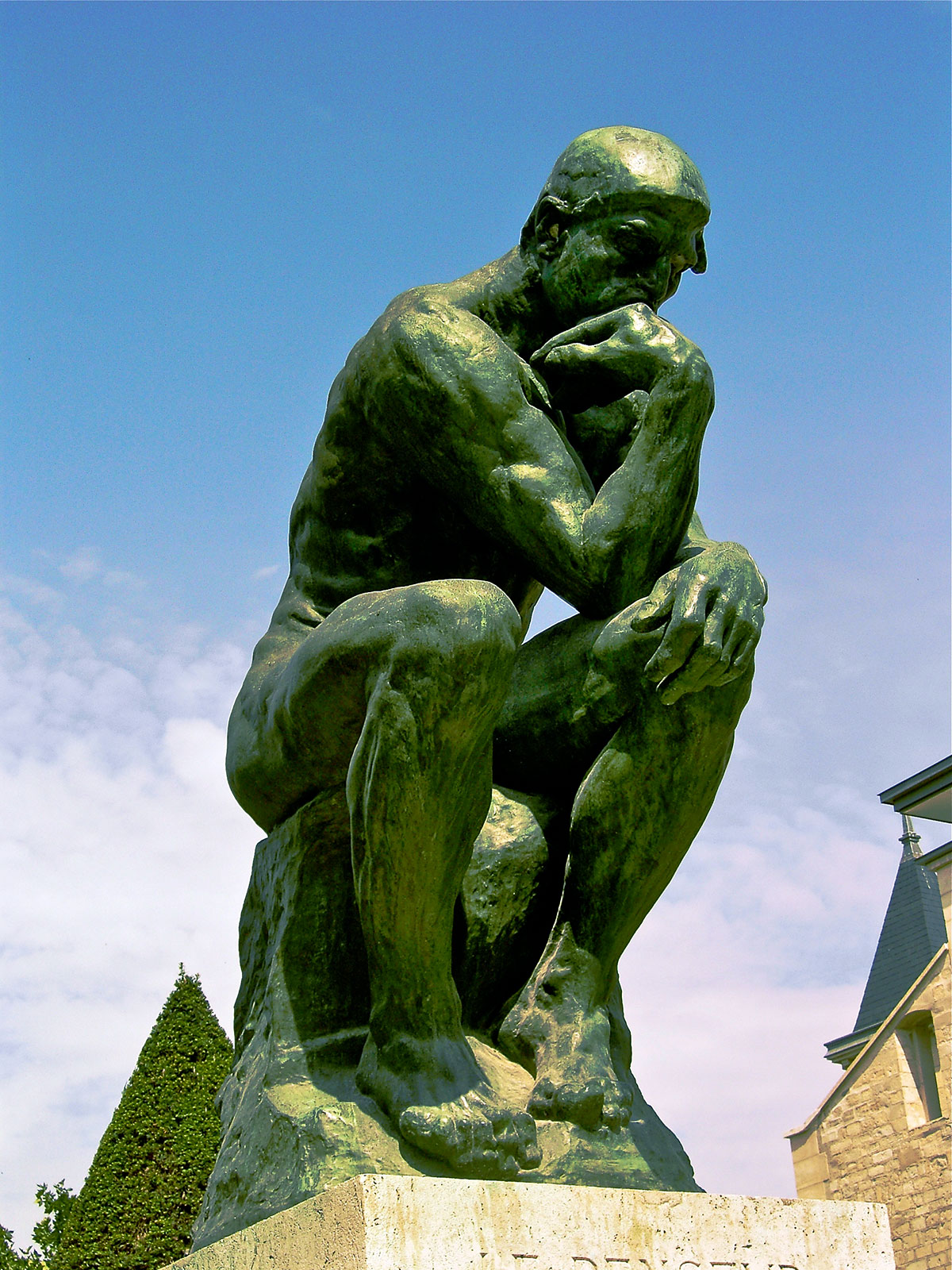 The Thinker /Le Penseur/ + Rodin, Auguste *magnifico