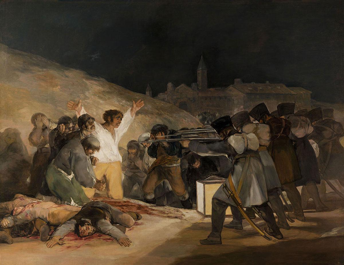 The third of may 1808 /El tres de mayo de 1808 en Madrid/ + Goya, Francisco *magnifico