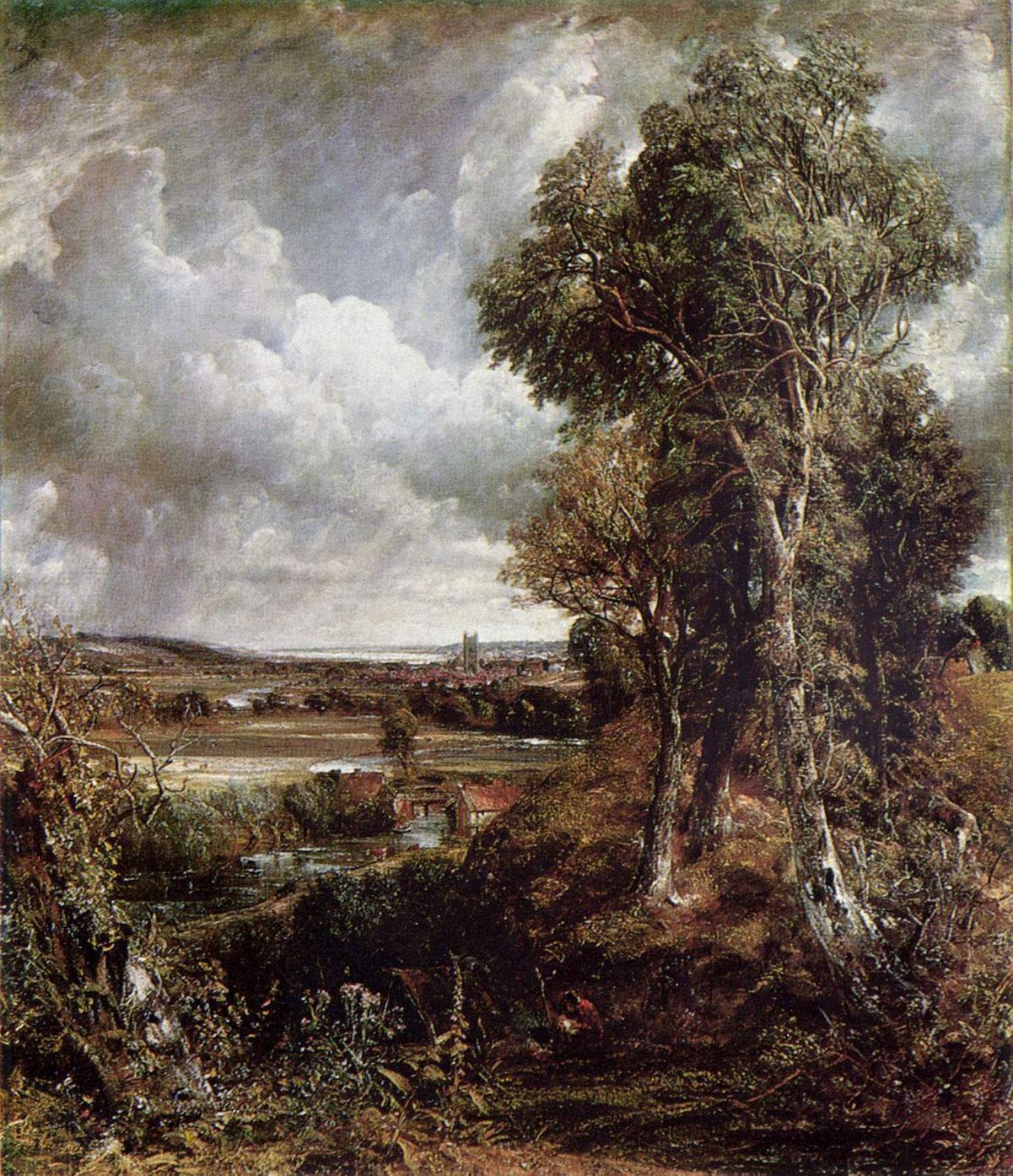 The Vale of Dedham + Constable, John *magnifico