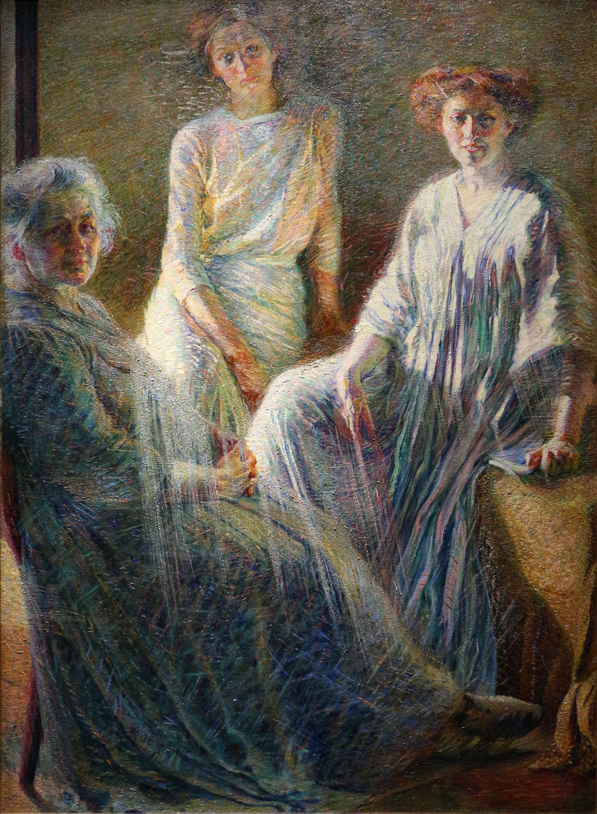 Three women /Tre donne/ + Boccioni, Umberto *magnifico