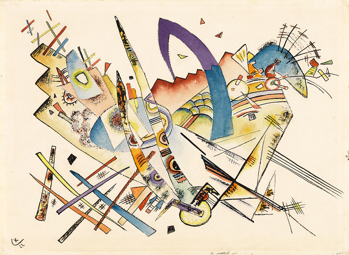 Untitled + Kandinsky, Wassily *magnifico