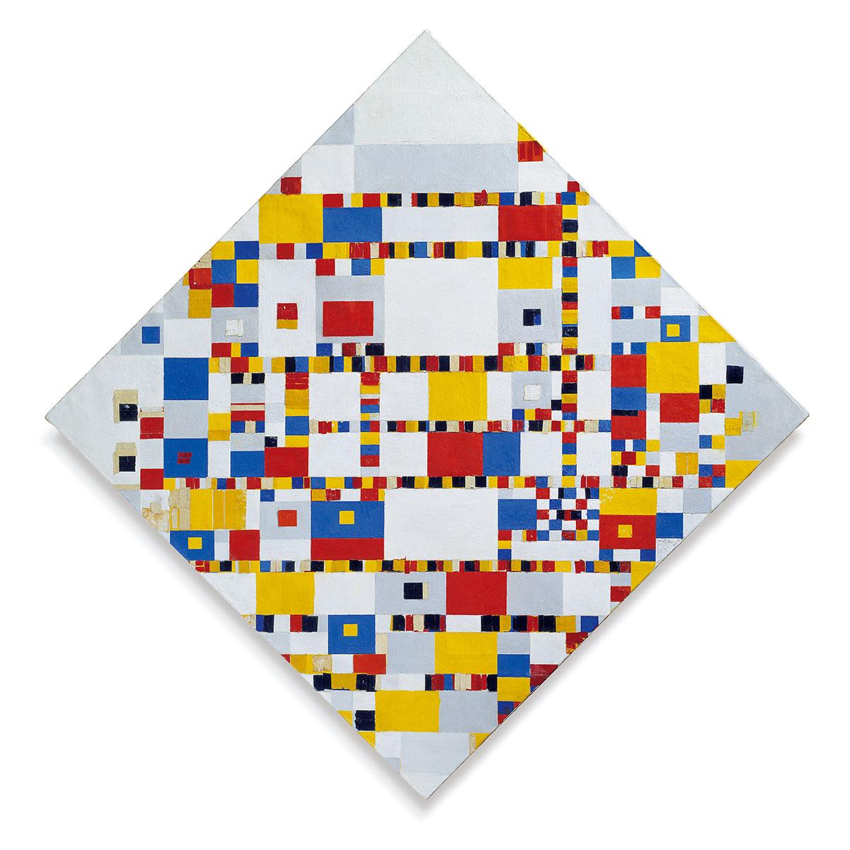 Victory Boogie Woogie + Mondrian, Piet *magnifico