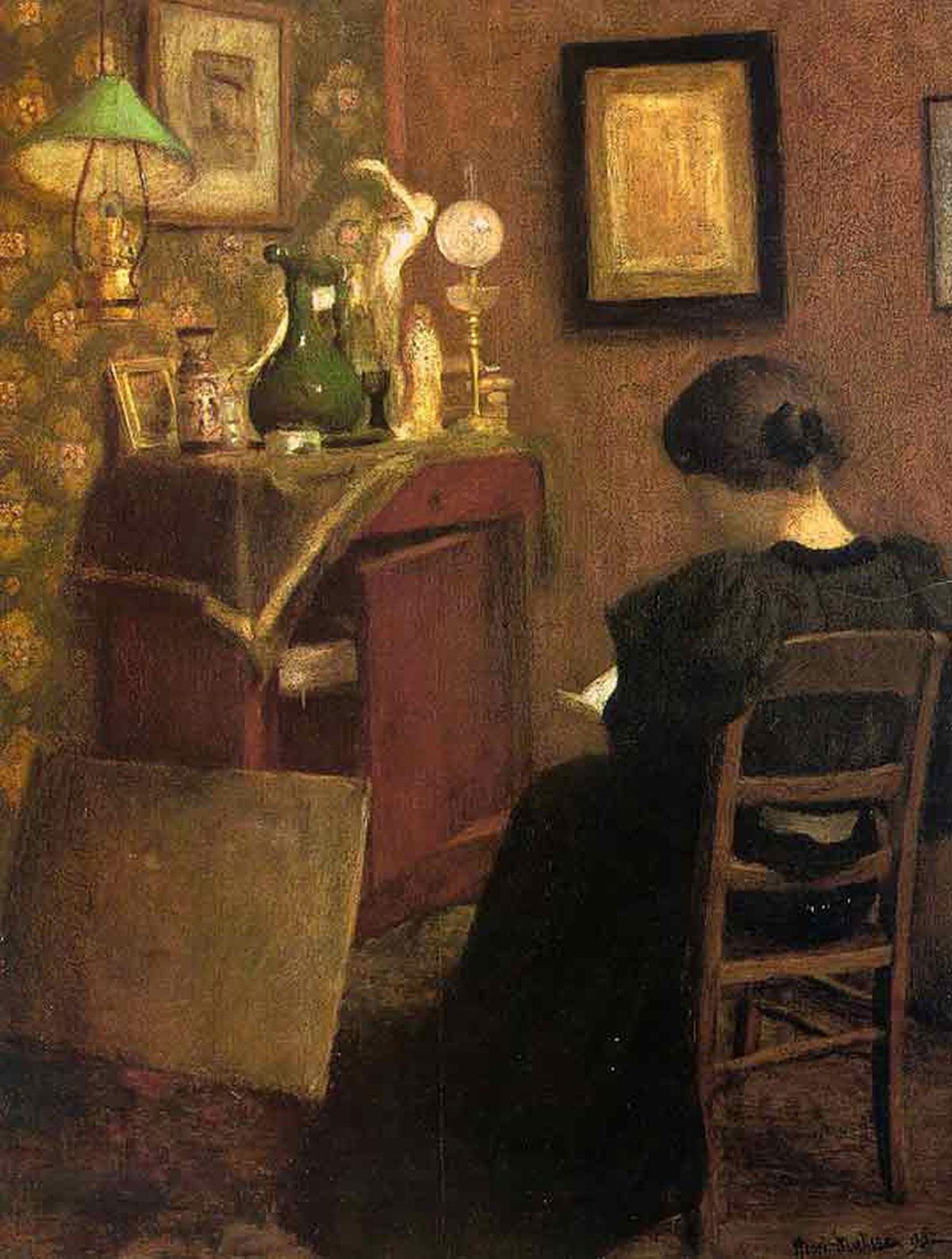 Woman reading /La liseuse/ + Matisse, Henri *magnifico